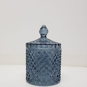 gcc16-BD : Regina Vintage jar - Classic Blue (NOT DISHWASHER SAFE)