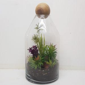 MV001L : Topple Dome Glass Atrium Vase - Large (H41cm)