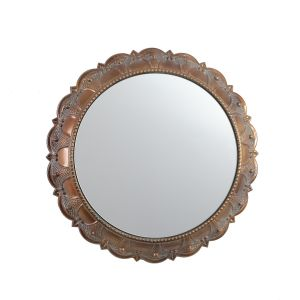 L32 : Persian Ornate Round Mirror **AVAILABLE END MARCH**