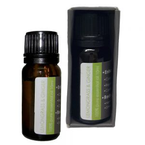 cL03lg : 10ml natural essential oil - lemongrass & ginger