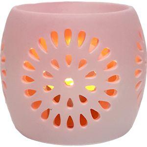 CL22-p : Mini Rosa round oil burner - pink