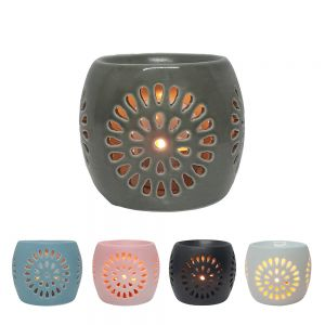 CL22 : Mini Rosa round ceramic oil burner