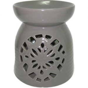cL48L-G : Large Rafa oil burner - grey