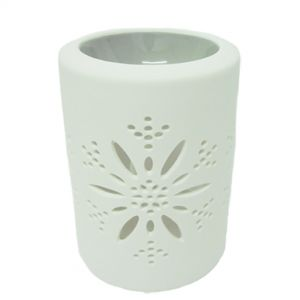 cL49a-g : Maha Star cutout ceramic oil burner - grey