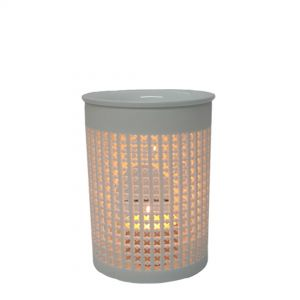 Suri cylindrical 2pc oil burner - M