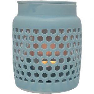 CL58K-BU : Lumi round 2pc oil burner - blue