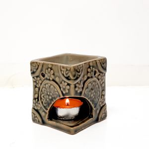 CL68-TN : Nuna square  oil burner -  tan wash