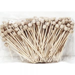 Mini Reed Diffuser Sticks W/Ball Top (H12Cm) - Pack Of 100