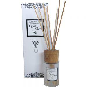 100ml premium fragrance diffuser in gift box - luxury living: fig & clove