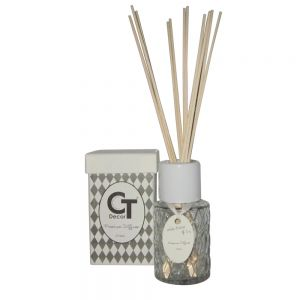 125ml premium diffuser in gift box - Green Living: White Orchid & Ivy