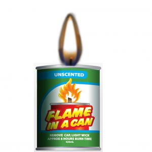 flame in a can - unscented