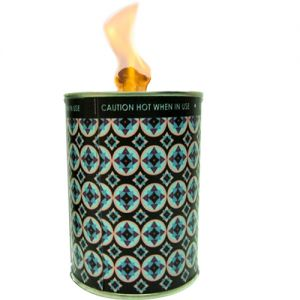 flc1/bl1 : Designer flame in a can unscented - black floral