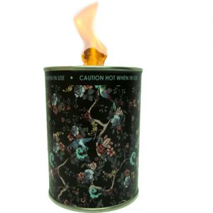 flc1/bl2 : Designer flame in a can unscented - black retro