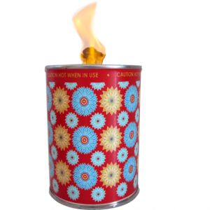 flc1/r4 : Designer flame in a can unscented - red electic