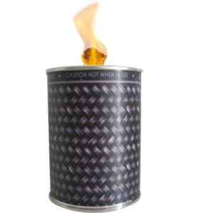 flc1/w2 : Designer flame in a can unscented - dark weave