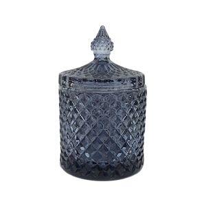 gcc16b : Regina Vintage jar - blue (NOT DISHWASHER SAFE)