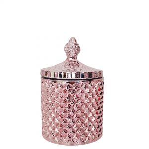 gcc16-cp : Regina Vintage jar - Rose Gold Copper washed (NOT DISHWASHER SAFE)