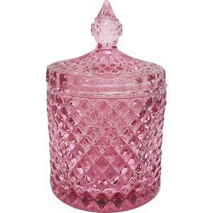 gcc16p : Regina Vintage jar - pink (NOT DISHWASHER SAFE)