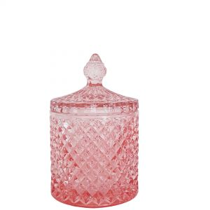 gcc16-pi : Regina Vintage jar - Dusty Pink (NOT DISHWASHER SAFE)