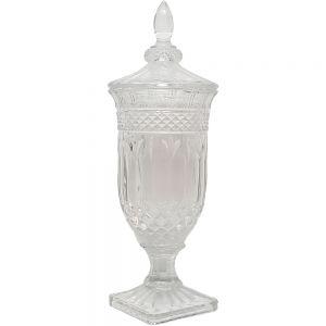 Buckingham crystal glass jar - XL