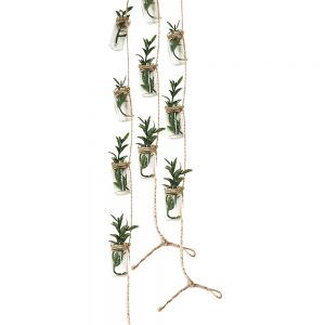 GCH57B : set of 3 hampton mini hanging vase