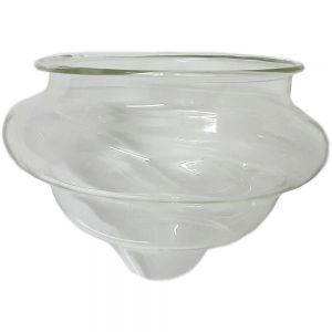 small glass floating tealight holder