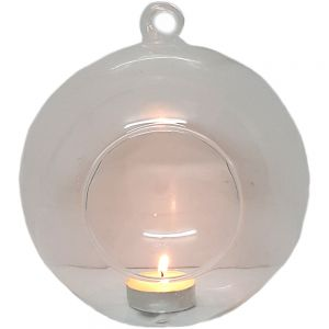 gt15a-L : Norm glass ball hanging vase - Large  D15cm