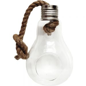 gt28a-L : Paxton light bulb vase - L  **AVAILABLE MID MARCH**