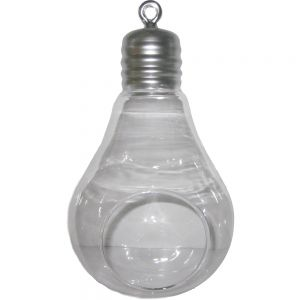 gt28s : Plumen round hanging light bulb vase - Small