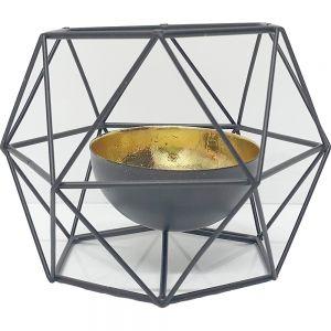 mercury prism himmeli candle holder