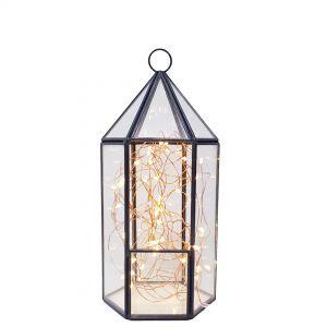gtt04 : Terrarium glass planter - hanging cathedral