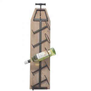 HC176 : Industrial Cork screw wine rack (5 bottles)