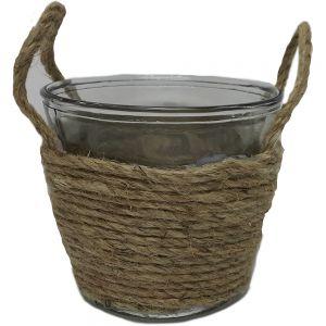 Hampton mini V-shape vase