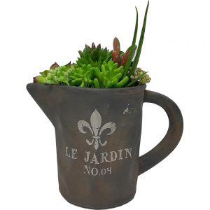 Le Jardin copper jug