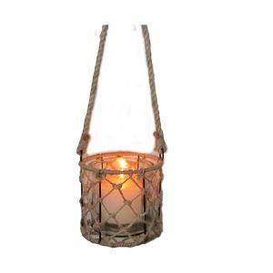 Hampton Lattice Cylindrical Lantern