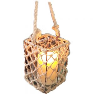 Hampton Lattice Square Lantern
