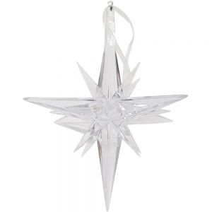 JYX-17M : 3D Diamond star xmas ornament - Medium