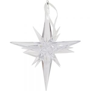3D Diamond star xmas ornament - Small