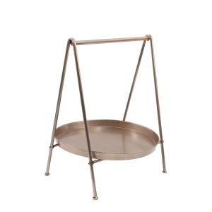 L11 : Trevi metal display stand with round plate