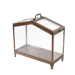 L48 : Cleo metal display glasshouse / atrium