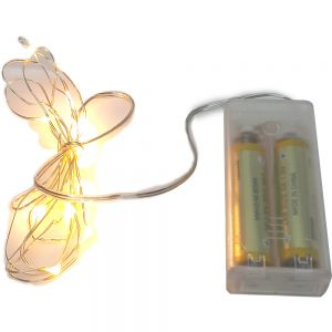 LFX04-2 : LED silver wire fairy lights - 5 meters