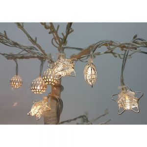led xmas light - metal star