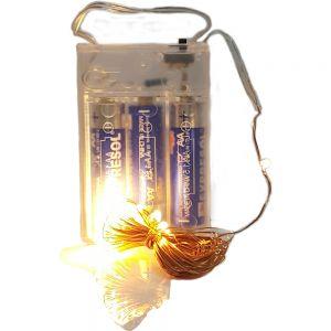 LFX04c-2 : LED copper wire fairy lights - 5 m