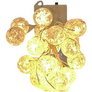 crystal Ball LED fairy lights - 2m