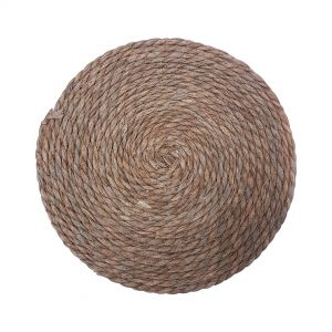 MJ06017 : D33cm Seagrass Woven Placemats - Natural