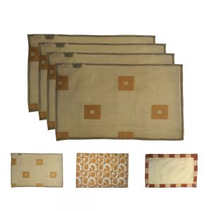 33x48cm silk organza placemat