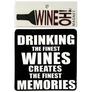 WineOh quotable Magnets - MEMORIES