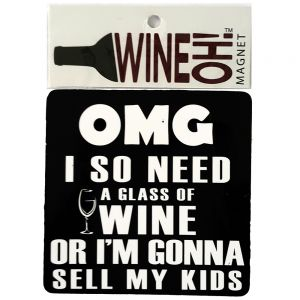 WineOh quotable Magnets - OMG