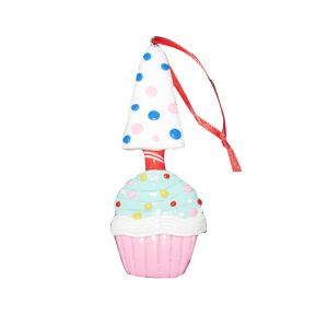 candy buffet hanging deco - cupcake xmas tree