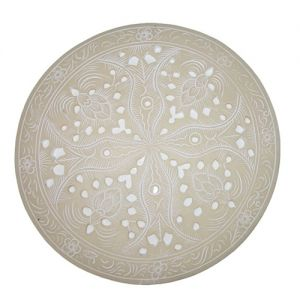 Resin round placemat D25cm